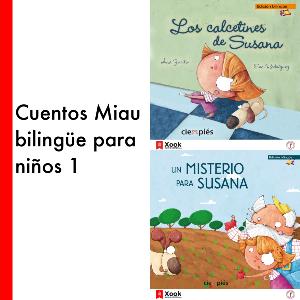 Cuentos Miau bilingüe para niños - 1