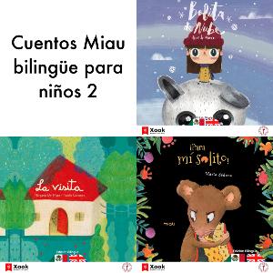 Cuentos Miau bilingüe para niños - 2