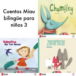 Cuentos Miau bilingüe para niños - 3